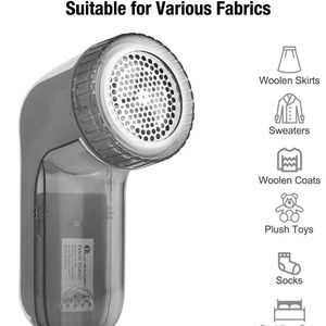 Fabric Shaver and Lint Remover with 2-Speeds
